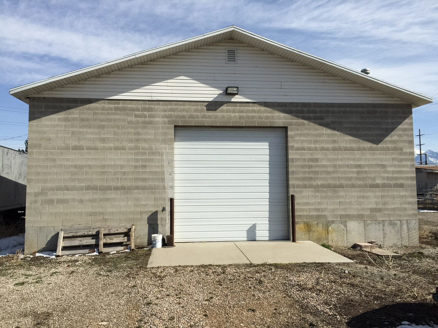 Industrial Garage Jrs Construction Utah