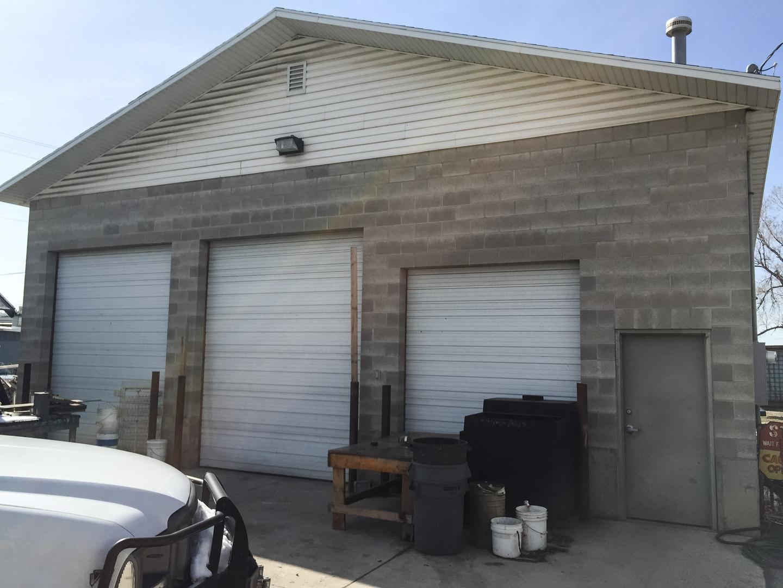 Industrial Garage Jrs Construction Utah