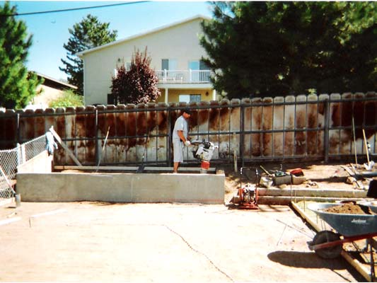 Custom Sun Deck Swimming Pool Patio Jrs Construction Utah
