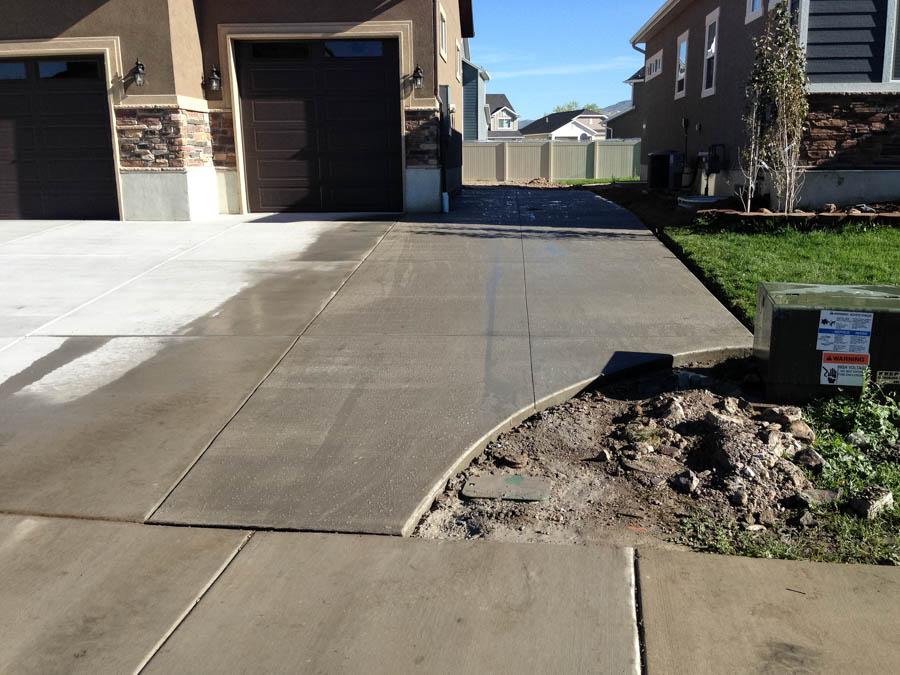 Driveway Extension – JRS Construction Utah